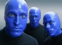 Blue Man Group show Orlando