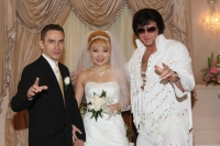 Getting married by Elvis in Las Vegas at Graceland Wedding Chapel