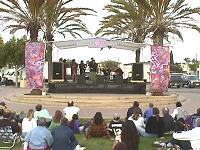 Adams Avenue Street Fair park stage